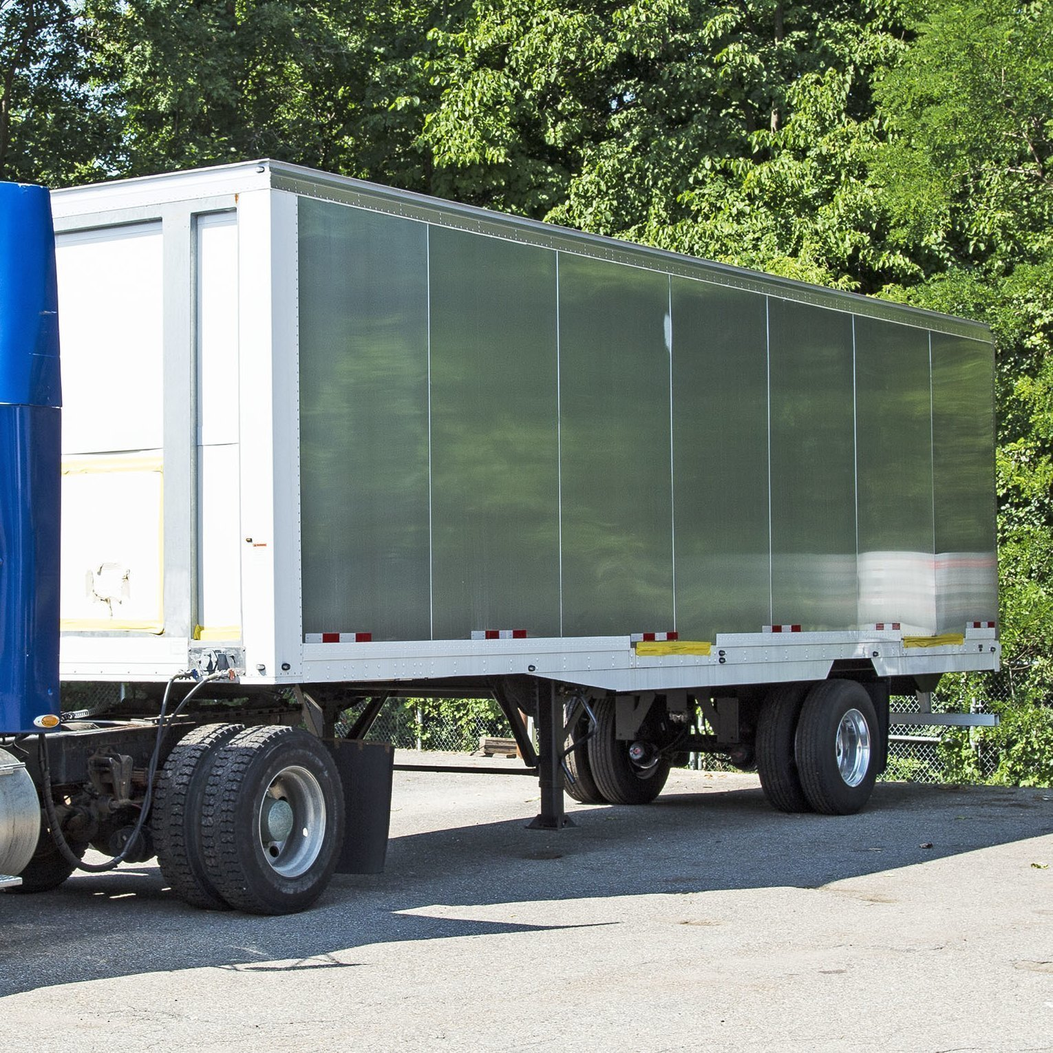 Two - 33' Smooth Side Trailers