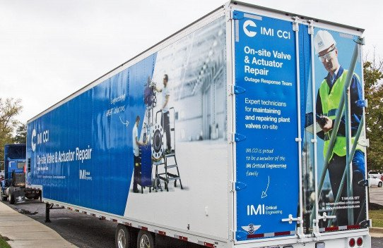 Photo Gallery: IMI CCI On-Site Valve & Actuator Repair - Mobile Response