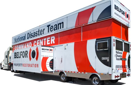 Photo Gallery: Belfor Mobile Disaster Reponse