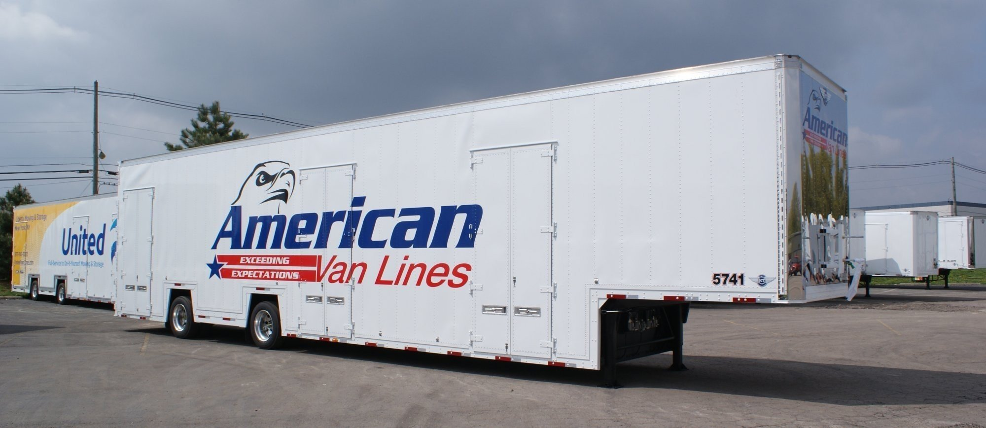 Double Drop Moving Amp Storage Specialty Trailers