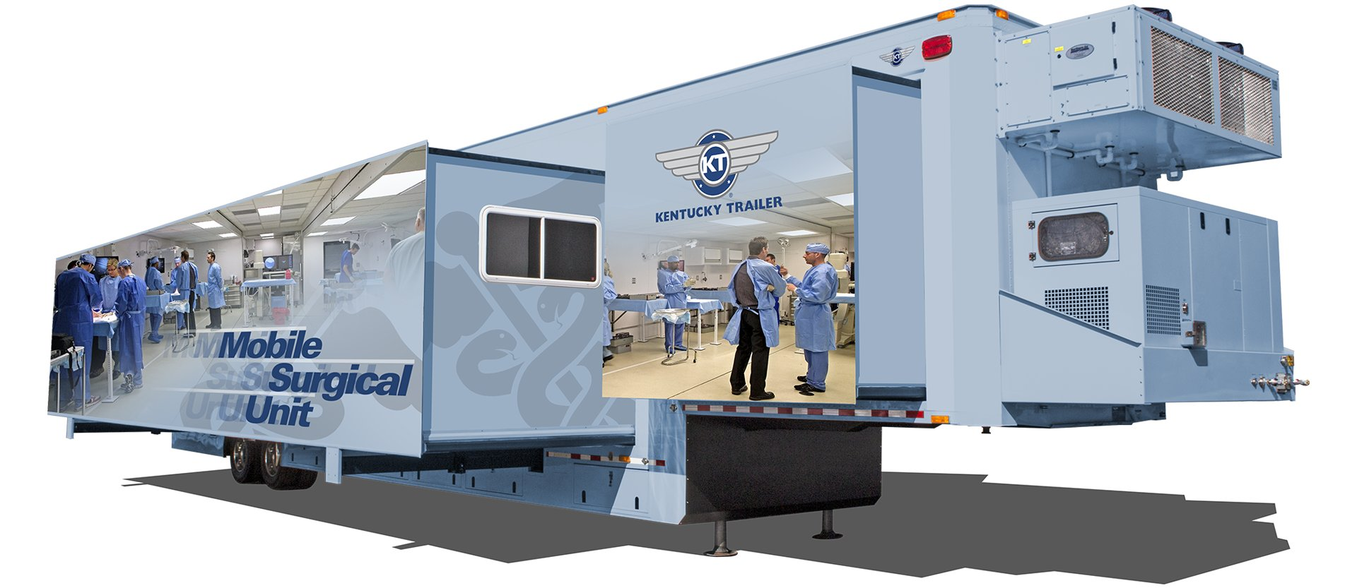 Mobile Surgical Unit Mobile Medical Specialty Trailers