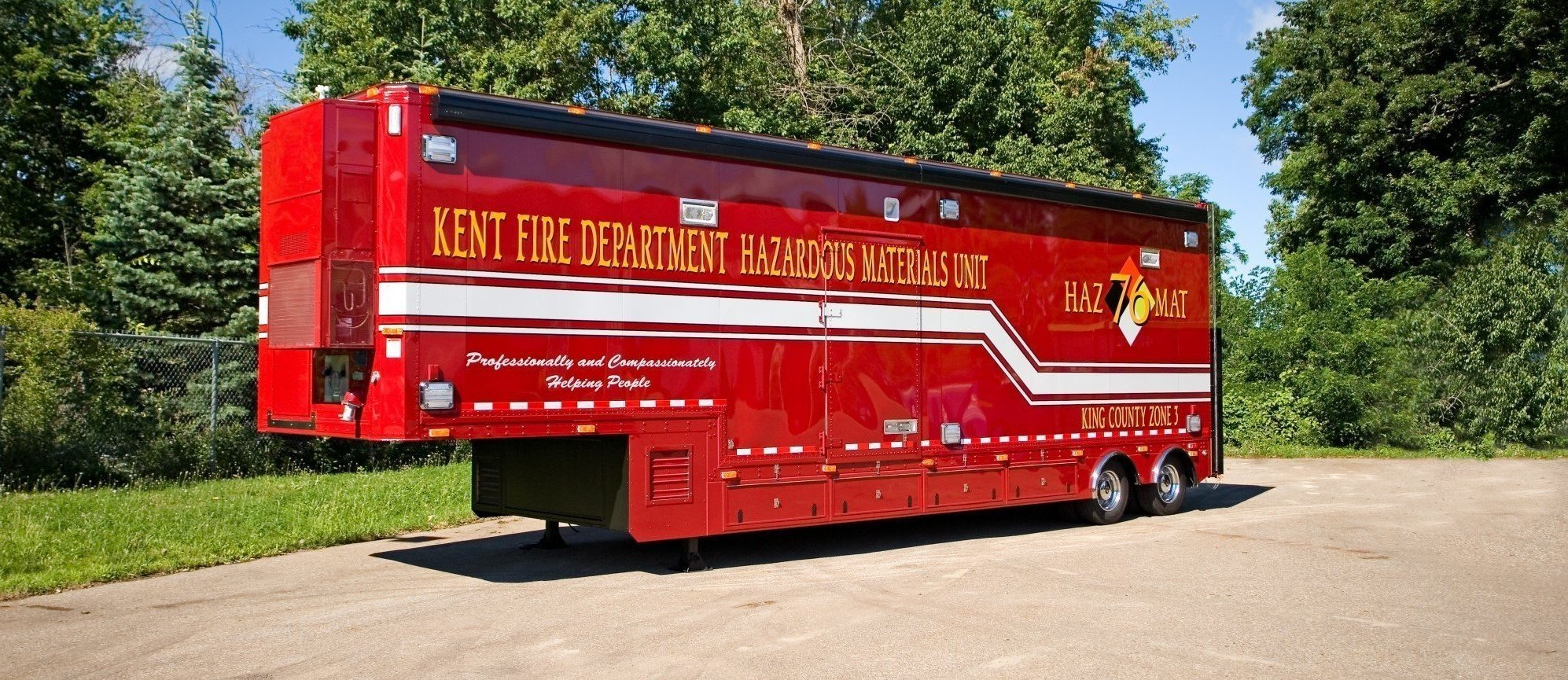 Mobile Hazmat Response Military Government Specialty