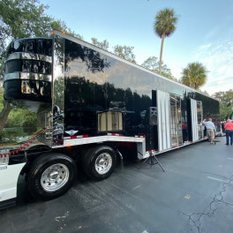 TEC Equipment 7-Car Hauler from the AHAA Convention
